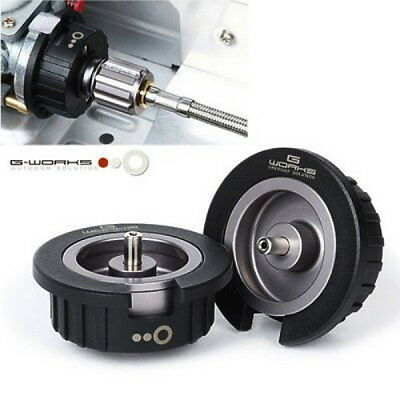 New G Works Screw Type Multi Gas Adapter Outdoor Duralumin Camping 28g