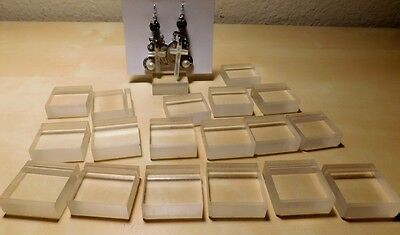 19 pcs Clear Acrylic Jewelry Retail Presentation Display Stand for earring cards