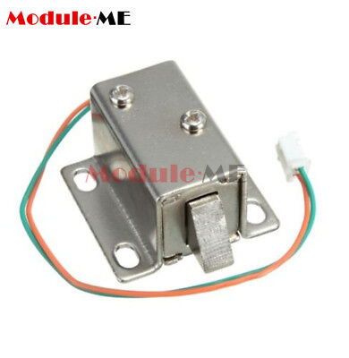 27x29x18mm 12VDC Cabinet Door Drawer Electric Lock Assembly Solenoid Lock MO