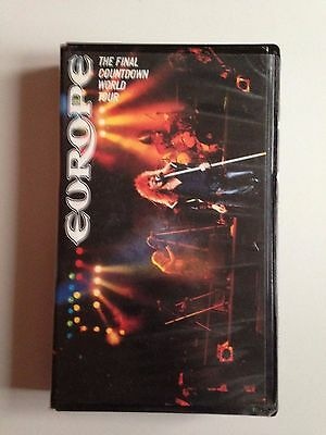 K7 Video Vhs Europe The Final Countdown World Tour