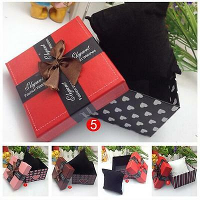 Durable Presentation Gift Box Case For Bracelet Bangle Jewelry Uhren Boxes Hülle