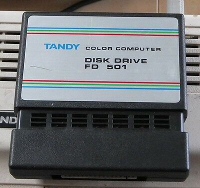Tandy TRS-80 Colour Computer FD501 disk controller for Coco 1-2-3