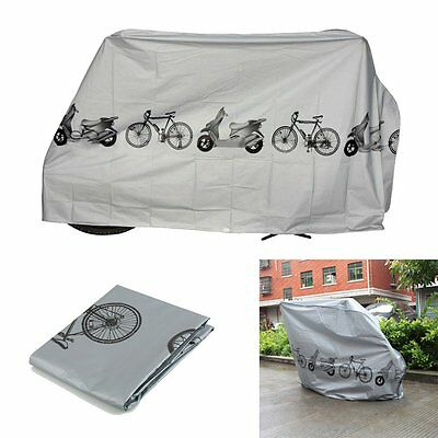 Waterproof Rain Storage Dust Cover Outdoor Protector For Bike Bicycle Cycling JR