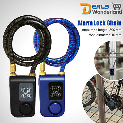 Anti-theft Cycling Alarm Warner Bicycle Security Vibration  Alerter Waterproof