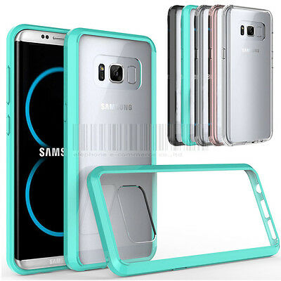Shockproof Rubber Hybrid Hard Phone Case Cover For Samsung Galaxy S8 / S8 Plus