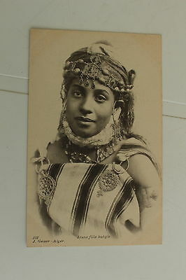 CPA - ALGERIE - Kabylie, une jeune fille kabyle