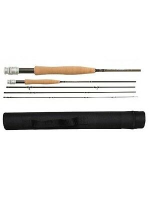 Cortland Precision Fly Rod with Hard Tube 8ft 5Wt 4 Piece Fly Rod Graphite New
