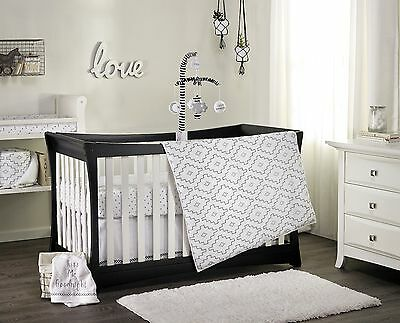 2 pc Phoenix Baby Boys Girls Cot Quilt & Fitted Sheet Nursery Bedding Sets