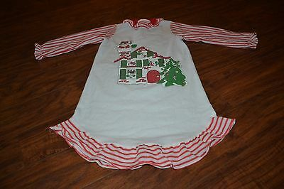 F1- Vintage Twilight Time Christmas Nightgown