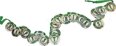 IRISH ST. PATRICK'S DAY CIRCLE GARLAND  by Primitives by Kathy SEEN FOR $22.99