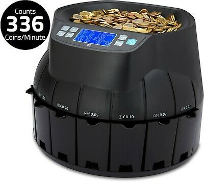 Auto Electronic Money Coin Cash Currency Counter Counting Sorter Machine Euro