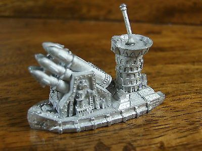 Classic Metal Man O War Chaos Dwarf Great Thunderer Battle Barge Unpainted (1768