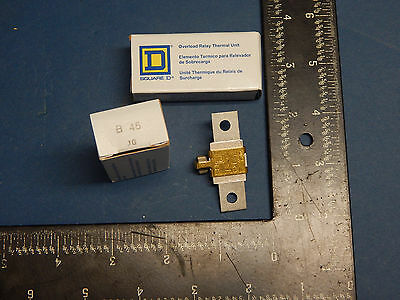 Square D B45 Overload Relay Thermal Unit
