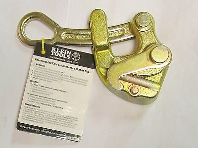 KLEIN TOOLS 1625-20 8000 LB 7/8 10-13 Wire Cable Rope Grip Puller 1625 20
