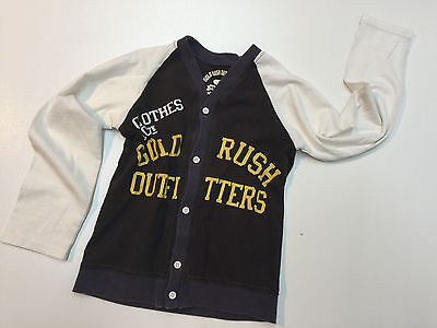 Gold Rush Outfitters Boy Cotton Blend Shirt Button-Up Long Sleeve Size 6 New