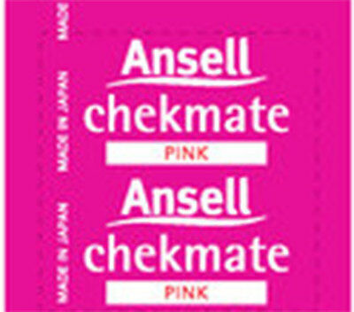 Ansell Chekmate Lubricated 144 Condoms (PINK) BULK PACK