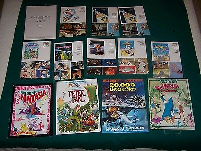 LOT 13 Synopsis DISNEY Merlin l'enchanteur FANTASIA, PETER PAN, Dumbo, Pinocchio