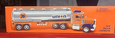 1998 Union 76 Tanker Truck Toy Coin Bank