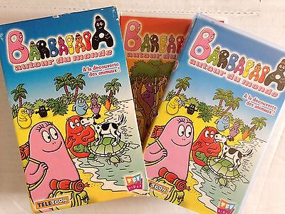 Coffret 2 K7 Video Vhs Barbapapa