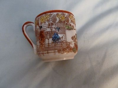 Handpainted Japanese Small Cup
