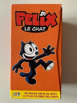 Coffret 3 K7 Video Vhs Felix Le Chat
