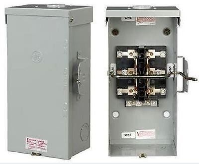 200 Amp New In Box Double Throw Transfer Switch Ge Tc10324R