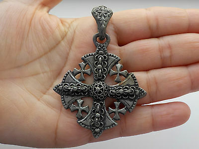 Pewter Cross And Chain  Metal Detecting Find