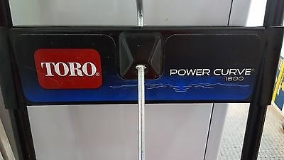 Toro 1800 Power Curve Snow Blower - barely used