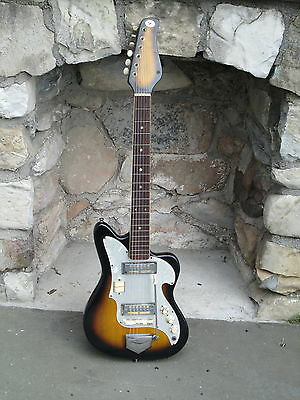 Vintage Early 1960's ZEN-ON Electric Guitar