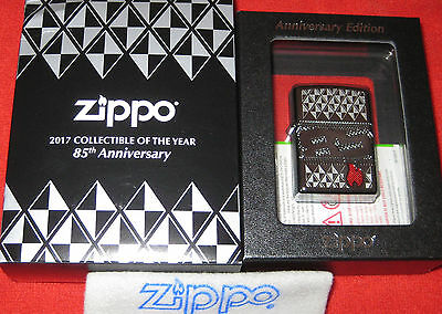 ZIPPO  85TH ANNIVERSARY Lighter ARMOR 2017  COLLECTIBLE of the YEAR Limited CODY