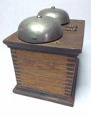 Antique oak Western Electric D 127 f  telephone ringer box Vintage phone