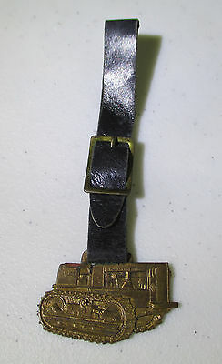 Vintage Allis-Chalmers Tractor Division Watch Fob; Milwaukee USA