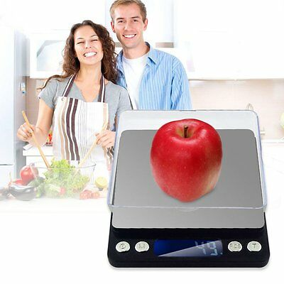0.5kg/2kg/3kg Kitchen Food Jewellery Digital LCD Electronic Weight Scales Lot TM