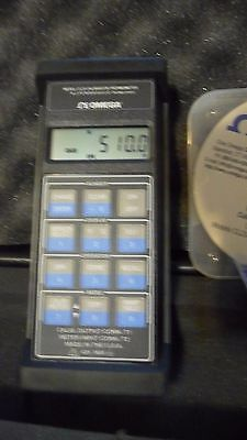 Omega CL25 Calibrator Thermometer with software.