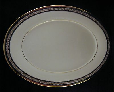 "Noritake KING'S GUARD Serving Platter 13 3/8"" BEAUTIFUL"