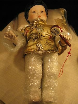 Franklin Heirloom IMPERIAL CHINESE BABY DOLL **Rare!**