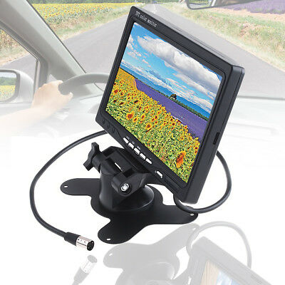 "7"" TFT LCD Screen For Car Monitor Reversing Rearview Backup Camera Rear View DVD"