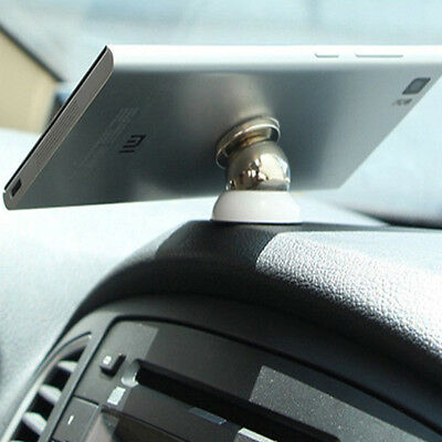 Magnetic Cell Mobile  Universal 360 Car Dash Holder Stand Mount White For iPhone