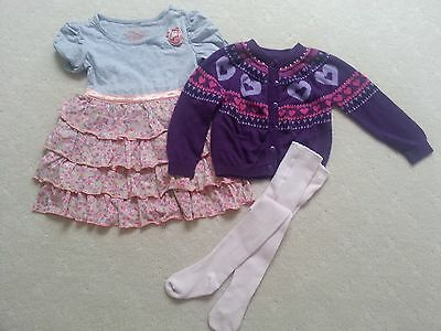 Pre-loved Girls Winter/ Autumn Bundle, size 2 in Excellent Condition