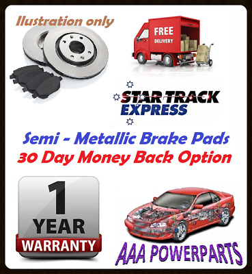Front Disc Rotors And Brake Pads For Holden Apollo Jm Jp 2.2L 5Sfe
