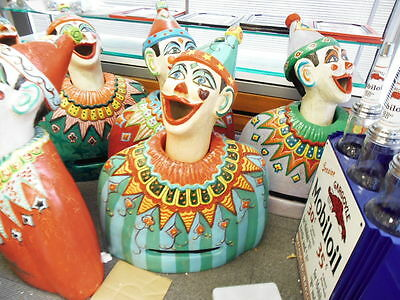 Luna Park Carnival Laughing Clowns Hand Made By Master Artists : No 1 Mr Pinball