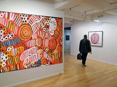 Huge Aboriginal style art Thick oil paint  by Jane Crawford 2000mm 1000mm