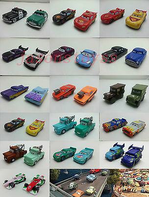 Mattel Disney Pixar Cars Color Changers Mcqueen & Hudson Toy Car 1:55 Loose New