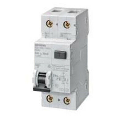 SIEMENS Interruttore Automatico Magnetotermico Differenziale 10A 30ma 6kA 1+N