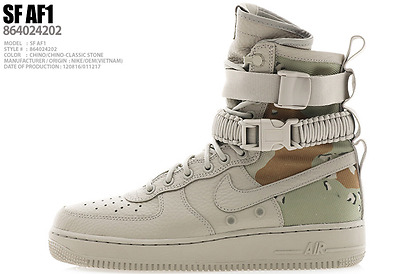 [Limited] NIKE AIR FORCE 1 SF SPECIAL FIELD DESERT CAMO SF AF1 IN HAND SIZES 6-9