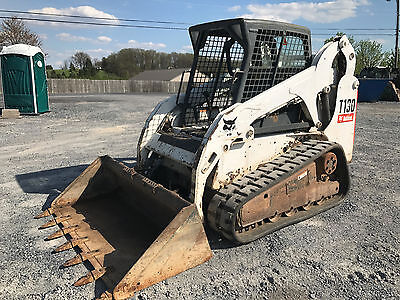 2007 Bobcat T190 Tracked Skid Steer Loader!