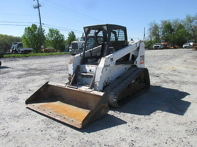 2005 Bobcat T250 Tracked Skid Steer Loader!