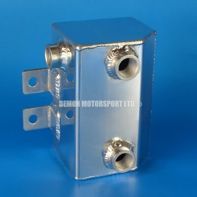 1 Litre Polished Alloy Oil Catch Tank Can (JIC AN8 8an -8 female)