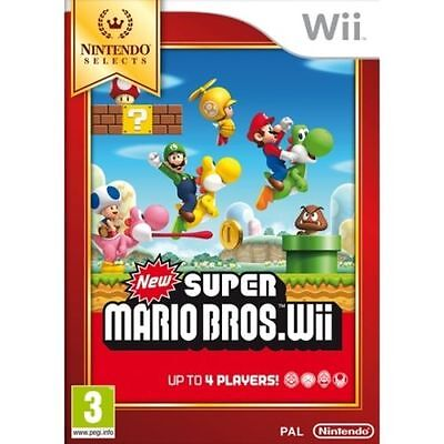 New Super Mario Bros. Wii Wii Game Brand New *DISPATCHED FROM BRISBANE*