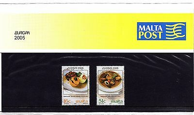 Malta 2005 Europa Presentation Pack SG 1428 - 1429 Unmounted Mint